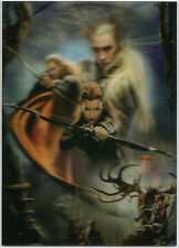The Hobbit Desolation of Smaug ~ 3D LENTICULAR POSTERS Insert Card KA-05