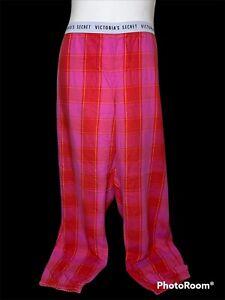 Victoria Secret Sleep Lounge Pants Size XL Elastic Waist And Bottoms Metallic