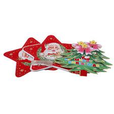 Scene Layout Hanging Flag Christmas Banner DIY Supplies Cartoon Xmas Bunting HD