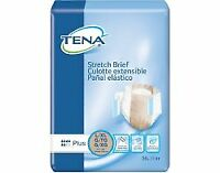 TENA Stretch Plus Adult Brief Large / X-Large Moderate Abs. 67603 - Pack of 36