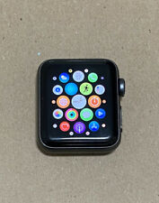 Apple Watch Series 2 38mm Space Gray Aluminum Case, Used, Very Good, Reset