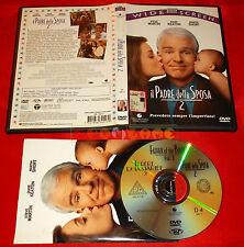 IL PADRE DELLA SPOSA 2 (Steve Martin) - Dvd 1ª Edizione SIAE Rosa - USATO - E2