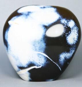 1.12lb Natural Blue White Carnelian Agate Geode Flame Crystal Form Madagascar