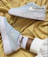 Nike Air Force 1 Pixel Women's (Glacier Blue / Pure Platinum) - ALL SIZES