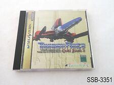 Thunder Force Gold Pack 2 (AC & 4) Sega Saturn Japanese Import SS JP US Seller B