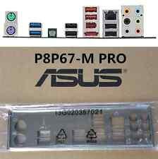 original ASUS I/O IO SHIELD for P8P67-M PRO REV 3.0 backplate #G1100 XH