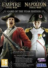 Napoleon and Empire Total War Collections PC & Mac [Steam Key] No Disc