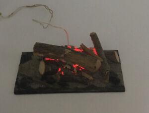 Dolls House Light Up Fire