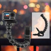 Universal Clip Bracket Flexible Adjustable Tripod Accessory for GoPro Hero