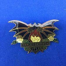 Harley Davidson Motor Cycles Bat Wings With Snakes Pin FREE SHIPPING # 106