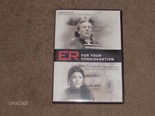 """ER"" TV Series! 2 RARE episodes! Emmy Preview DVD! RARE DVD! Jamess Woods"