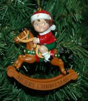 Campbell's Soup Rocking Horse Christmas Ornament