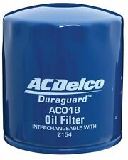 OIL FILTER RA RODEO COLORADO 2.4 Y24SE 2007-11 AC018 AcDelco New OE level Z154