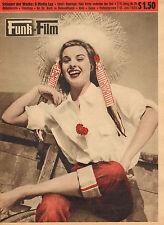 FUNK UND FILM 1955 nr. 25 - JEANNE PETERS / LANA TURNER / DOLORES DORN/MANTOVANI