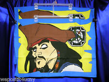 8 Jack Sparrow Pillowcases Pirates of the Caribbean Favors Pirate Loot Bags