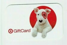 Target Gift Card Bullseye Dog - Older / 2008 - No Value - I Combine Shipping