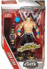 WWE Mattel Elite John Cena Elite 40 with US Title Champion belt NEW