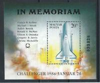 """Hongrie Bloc N°184** (MNH) 1986 - Navette """"Challenger"""""""