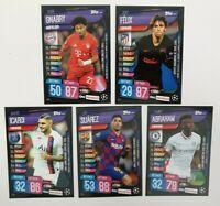 Topps Match Attax On Demand Champions League 19/20 5 Karten Nr 16-20