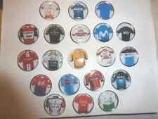 22 pins badge le TOUR DE FRANCE 2019 maillots des equipes  team cycling