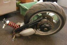 Triumph Sprint ST 955 i complete Rear Swingarm, Disc & Sprocket & shock & wheel