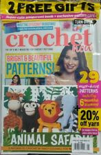 Crochet Now UK Issue 16 Animal Safari Bright Beautiful Patterns FREE SHIPPING sb