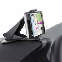 Universal Clip-On Car HUD GPS Dashboard Mount Cell Phone Holder Non-slip Stand