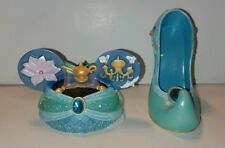 Disney Aladdin Jasmine Shoe Ear Christmas Ornaments Set Of 2