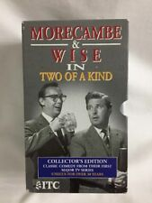 Morecambe And Wise - Two Of A Kind -  Video Cassette Tape 3 Volumes