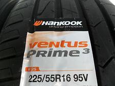 NEU 2x Sommerreifen Hankook Ventus Prime 3 225/55 R16 95V Reifen BMW E60 E61 A6