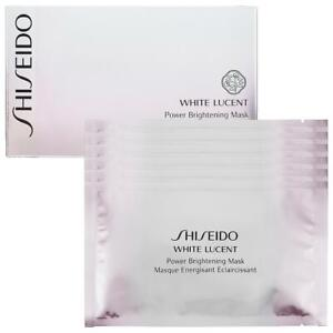Shiseido White Lucent Power Brightening Mask Pack Of 6 New In Box