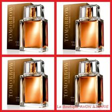 4 x Tomorrow for Him Eau of Toilette for Man Avon