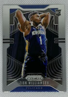 Zion Williamson 2019-20 Panini Prizm Rookie Card RC #248 Pelicans INVEST 📈