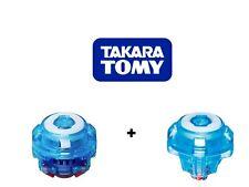 Takara Tomy Beyblade Burst Ultimate Reboot Driver Clear Blue + TA08 Impact Tips