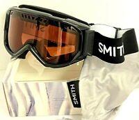 Smith Scope Ski Goggles Unisex Snowboard NWT Black RC36 Lens 100% UV