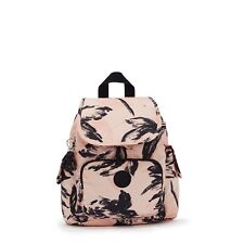 Kipling Backpack CITY PACK MINI Small in CORAL FLOWER Print SS21 RRP £77