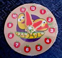 CBeebies My First Wooden Clock Toy Brand New Boxed