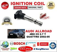 FOR AUDI ALLROAD 4BH C5 2.7 T QUATTRO 2002-05 SINGLE IGNITION COIL 4 PIN D-SHAPE
