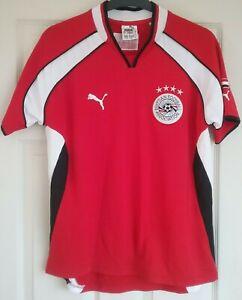 EGYPT 2002-2003 HOME FOOTBALL SHIRT JERSEY 'MIDO 9', Size 46/48 PUMA READ