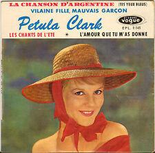 """PETULA CLARK """"VILAINE FILLE, MAUVAIS GARCON"""" 60'S EP GAINSBOURG !"""