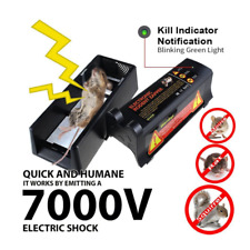 Electronic Mouse Trap mice Killer Rat Pest Control Electric Zapper Rodent US