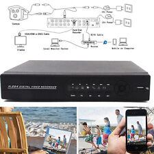 8CH HDMI Standalone DVR 1080P Video Recorder Audio For CCTV Security PTZ Camera
