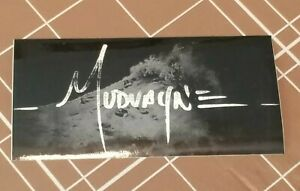 "Mudvayne  Logo Sticker - Promo Sticker from 2005 - 6"" by 3"" - Lost and Found era"