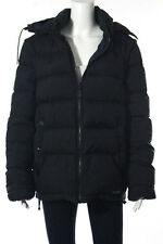Burberry Brit Navy Blue Long Sleeve Hooded Zip Up Jacket Size Medium