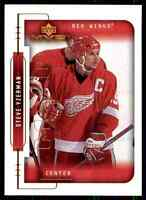1999-00 Upper Deck MVP Steve Yzerman #69