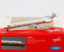 Herpa 1:500 - 528429: Aero Lloyd McDonnell Douglas MD-83 - NEU + OVP