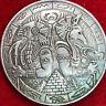 Very large Egyptian god Morgan Dollar Tibetan Silver Souvenir replica