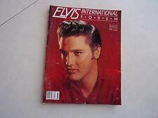 Elvis magazine International Forum Winter 1993 including poster