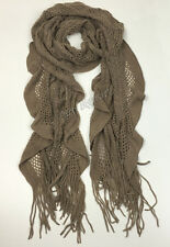Bulk Lots 12x Ladies Warm Winter Soft Knit long Scarf -7 Colours Assorted G6323