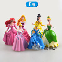 cute Tinker Bell  princess Party figure PVC figures set of 6PCS doll toy new
